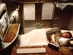 emirates airplanes interior design | Emirates A380 Possible First Class Suite Flat bed