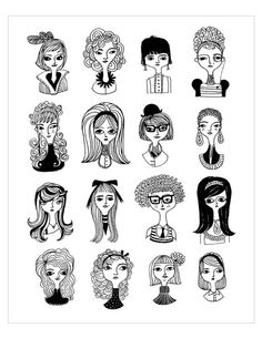 16 by Sarah Walsh by PetitReve on Etsy, $20.00 (via @Mallory Puentes Puentes McInnis)