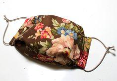 Mundmaske, Atemschutzmaske, Origami maske Origami, Saddle Bags, Beige, Etsy, Face, Cotton, Masks, Origami Paper, The Face