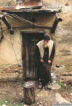 Mont Athos Portrait: unités Harry. Prière