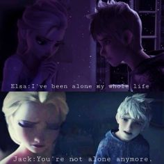 Elsa and Jack - who else think it is the perfect couple?!
