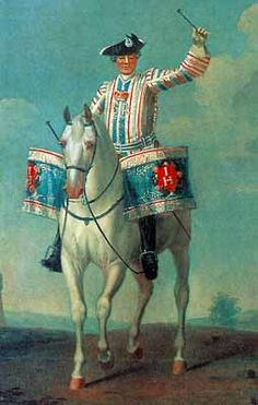 British Cavalry Drummer