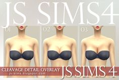 JS SIMS: [JS SIMS 4] Cleavage Detail Overlay