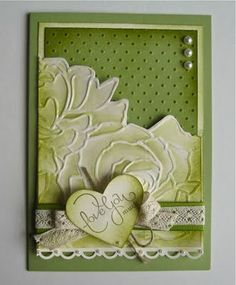Manhattan Flower embossing folder - Stampin Up