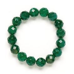 Gemstone Bracelet Green