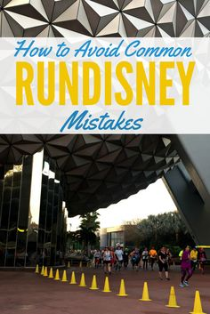 How to Avoid common runDisney mistakes: tips and hacks for running at Disney World and Disneyland races.