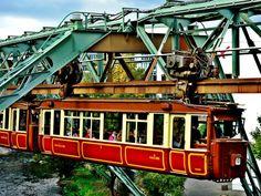 Monorail Elberfeld Mitte Wuppertal, Germany