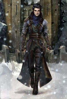 m Rogue Assassin Fortress mountain winter Snow Road lg (1k) Goth, Gothic, Goth Subculture