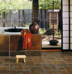 Snapstone - porcelain tile that snaps together for easy installation.