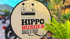 Located on the main Sairee road, 100 metres from Sairee crossroads, Hippo Burger Bistro is the original burger venue on Koh Tao. A super popular place to go if you crave an original American style burger with American size portions.