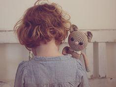 curly  -- love the little bear, so cute