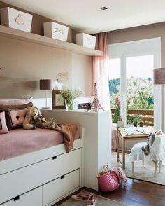Quarto Infantil - cama e área de brincar