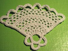 Ravelry: Fan Irish Crochet Pattern pattern by Camelia Shanahan...free pattern!