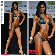 Top 10 (9th) finish for @_daniellemharris ' first ever national show which had over 1100 competitors from the US Mexico and Canada! We were able to achieve this with only one sponsorship average selfie-taking skills and a COMBINED total of about 6k IG followers . Looking forward to another great improvement season and continuing the #nlpt tradition of ALWAYS getting better show after show after show. Those who've either prepped with us for a few prep cycles or followed us for a year or two…