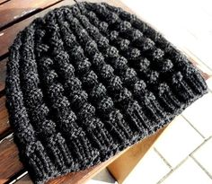 Kristiánova čepice – Návody na pletení