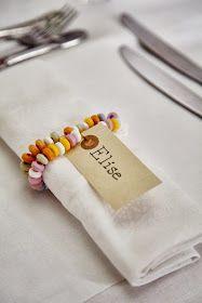 Bodas Cucas: Ideas cucas para decorar la mesa de los niños en una boda