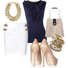 This is my style! How chic and sophisticated!
