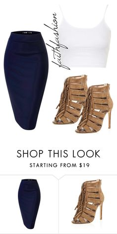 """Untitled #221"" by faithfashionash on Polyvore featuring River Island and Topshop"
