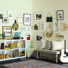 Learn How To Update Your Home Decor With An Alexandria Gallery Wall Gallery  Wall Frames,