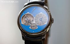 Watches By SJX: Hands-On with the F.P. Journe Tourbillon Souverain Bleu for Only Watch 2015