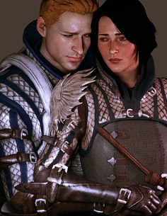 Alistair and the Warden <3 There needs to be DLC for this!!!