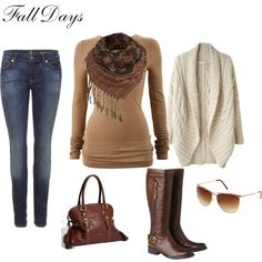 Ready for fall. Layers, layers and more layers.