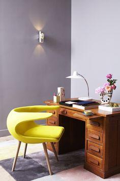 Maison M, Parigi, 2013. Yellow chair