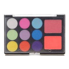 Ialwiyo 11 Eyeshadow Palette Shimmer Eyeshadow palette Pressed powder Normal Daily Makeup  Halloween Makeup  Party Makeup * Learn more by visiting the image link.