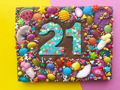 Excited to share this item from my shop: Birthday chocolate bar ~ birthday chocolate slab ~ number chocolate Chocolate Shapes, Chocolate Photos, Chocolate Treats, Chocolate Truffles, Chocolate Chocolate, Homemade Chocolate Bars, Artisan Chocolate, Rainbow Sweets, Rainbow Sprinkles