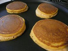 The Grubery: Pumpkin Pancakes Recipe