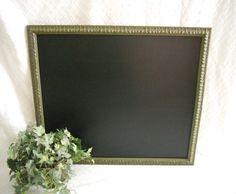 Large green Framed Chalkboard. Big Framed by PegsSecondChance, $50.00