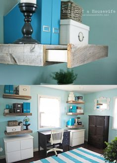 office-shelves-with-storage; these could go in the bedroom shelves one day, to hold jewelry, etc.