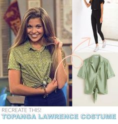Boy Meets World's Topanga Lawrence Costume / How to Make 5 Popular 90s Character Costumes for Halloween! #halloweendiy #halloweencostume Clueless Costume, 90s Costume, 90s Party Outfit, 90s Outfit, Outfit Essentials, Movie Character Costumes, Character Outfits, Boy Character, Cindy Crawford