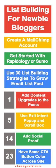 Are you a newbie blogger who want to grow email list? Then you are at the right place. I have created this guide by closely following how experts like Neil Patel, Brian Dean, Derek Halpern, Noah Kagan and many more are building their email lists. I have mentioned 30 actionable list building strategies + list building tools that you can use to grow your email list. Click through to get this exclusive guide for free right now.