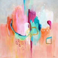 Lumiere, colorful abstract art