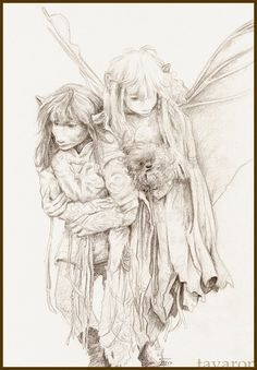 KIRA: of course not. you're a boy. from the movie 'the dark crystal' i this movie! medium pencil and a bit photoshop Dark Crystal Movie, The Dark Crystal, Jim Henson, High Fantasy, Fantasy Art, Crystal Drawing, Crystal Tattoo, Brian Froud, Kobold