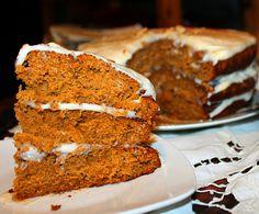 vegan dessert spice cake with cream cheese frosting recipe
