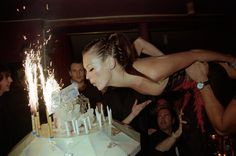 Celebrities Let Their Hair Down In Raucous Party Photos Spanning Four Decades