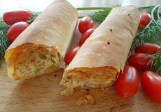 Τυροπρασoμπουρέκια   Food Collection Fresh Rolls, Food Processor Recipes, Tacos, Ethnic Recipes, Greek, Greece