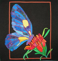 Quilt Inspiration: Butterfly Quilts by Sheril Drummond