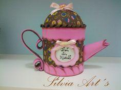 Porta Chá de EVA
