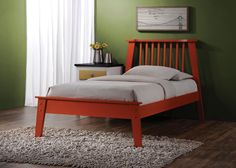 ACME Marlton Queen Bed Orange - 25410Q