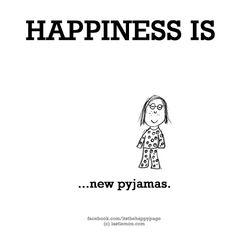 New pajamas :)