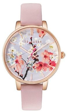 808cbb578ff4f nostalgic romantics with the painterly floral backdrop on this watch - Women s  Ted Baker London Kate