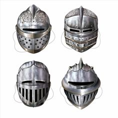 These knight's masks are a great alternative to birthday hats.  The knight's masks come in 4 different styles and are made of a durable cardstock.  Medieval party supplies help to make your Medieval party a hit.  No party is complete until you have all the great Medieval party supplies.