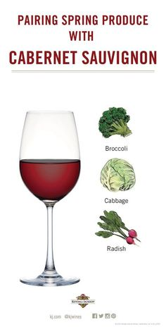 Learn how to pair spring fruits and vegetables with Cabernet Sauvignon. Fig Wine, Vegan Wine, Spring Fruits, Vegetable Seasoning, Wine Fridge, Italian Wine, Cabernet Sauvignon, Fruits And Vegetables, Wine Tasting
