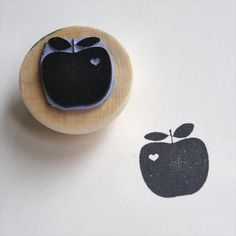 KJ - I have all the stuff to design/carve an apple stamp... if you see any that you like, let me know!