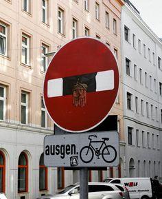 Dan Witz in Vienna