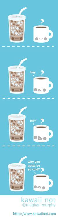 Iced Coffee (Kawaii Not Comic)