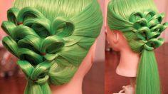Причёска с резинками